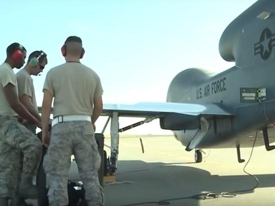 ВВС США провели многочасовую разведку над Донбассом