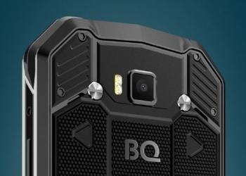 BQ Shark – смартфон повышенной прочности от известного бренда