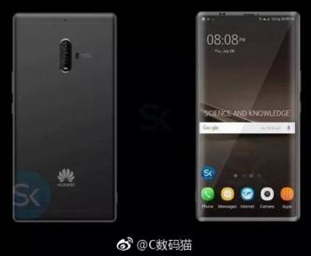 Раскрыт предполагаемый дизайн флагмана Huawei Mate 10