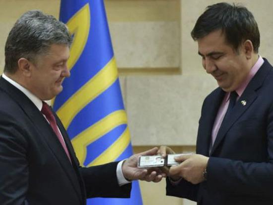 Между Киевом и Европой: Почему Порошенко лишил Саакашвили гражданства
