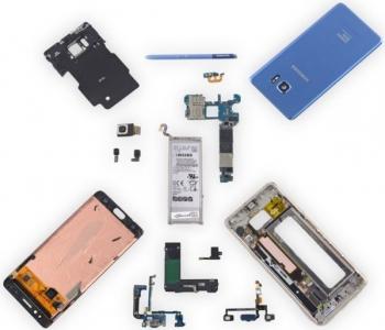 Смартфон Samsung Galaxy Note Fan Edition разобран в iFixit