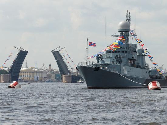 Не бряцание оружием: Военно-морской парад в Санкт-Петербурге напугал сопредельные страны