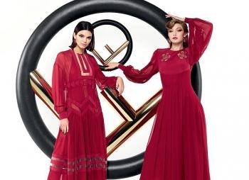 Джиджи Хадид и Кендалл Дженнер снялись вместе в рекламе Fendi