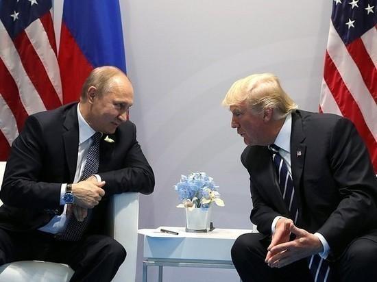 Трамп: Я был очень жестким в общении с Путиным
