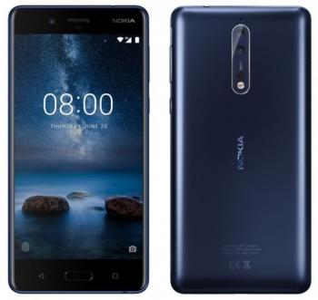 Официальные рендеры смартфона Nokia 8 указали на наличие рамок экрана