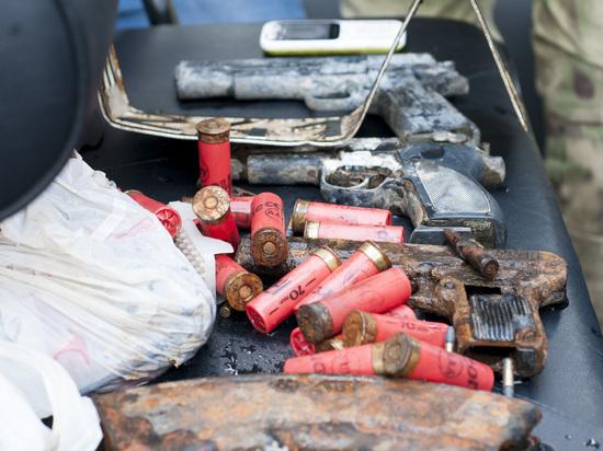 Пистолеты, патроны, телефон: что нашли водолазы Росгвардии у Крылатского моста