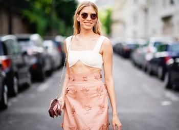 Елена Перминова, Ники Хилтон, Бри Ларсон и другие гости показа Valentino в Париже