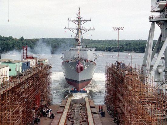 Новейший миноносец John Finn поступил на вооружение ВМС США