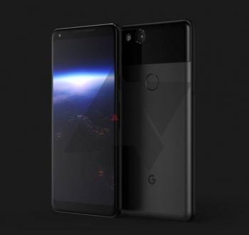 Встречаем смартфон Google Pixel XL2: опубликован первый инсайдерский рендер