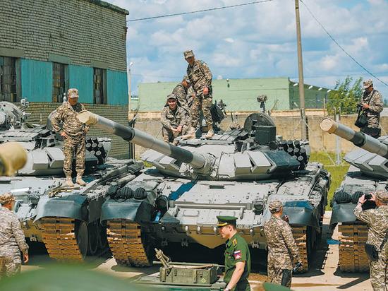 Жеребьевка танкового биатлона в Алабино принесла России красный флаг