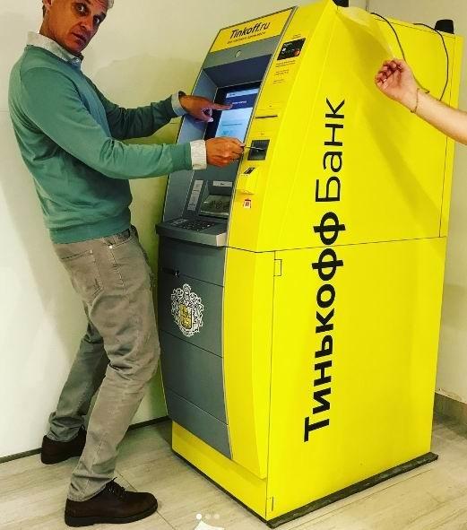 В России появились банкоматы Тинькофф Банк с распознаванием лиц