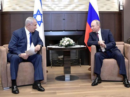 На встрече Путина с Нетаньяху особую роль сыграл глава
