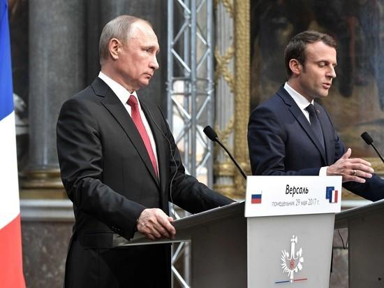 Макрон призвал к диалогу с Россией несмотря на разногласия по Украине