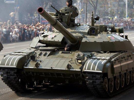 На параде в Киеве Украина показала НАТО переделанную советскую технику