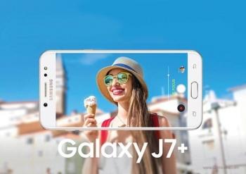 Двухкамерный смартфон Samsung Galaxy J7+ показался на рендерах