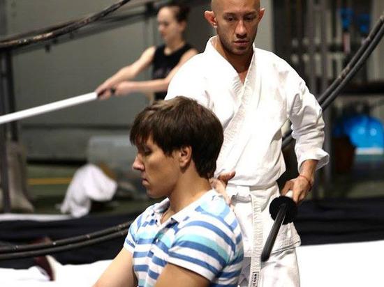 Артисты «Театриума» вступили в японский бой: репетируется спектакль-притча