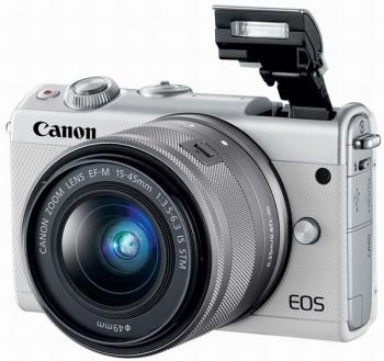 Canon представила беззеркальный фотоаппарат EOS M100