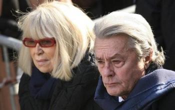 Умерла экс-жена Алена Делона