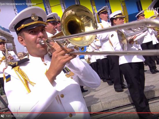 Украинцы «оттоптались» на НАТОвском параде в Киеве