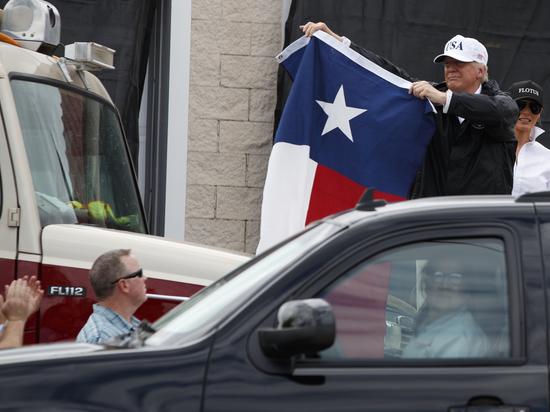 «Вот это сборище!»: где разница между ураганом «Харви» и Трампом