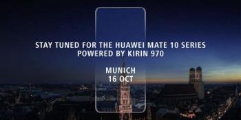 Фаблет Huawei Mate 10 покажут в середине октября в Германии