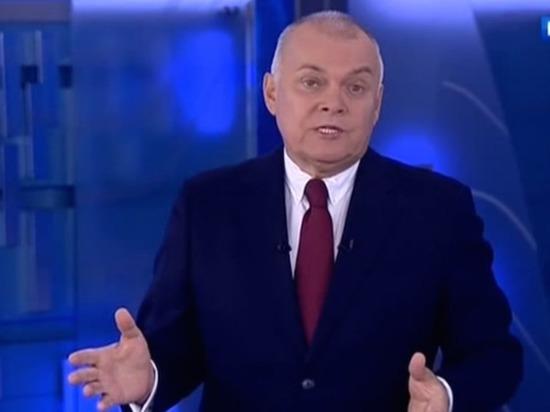 «Кто такой Познер?»: Киселев заявил о намерении стать «психологическим донором»