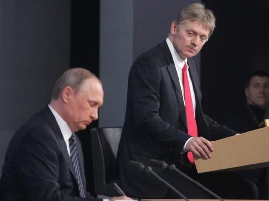 Песков прокомментировал публикацию о поэтапном выдвижении Путина в президенты