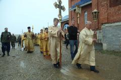 Митрополит Никодим освятил новый  Благовещенский храм в Миассе