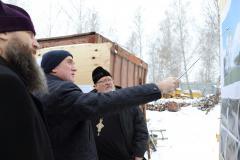 Этой зимой строительство главного храма Челябинской области прерываться не будет