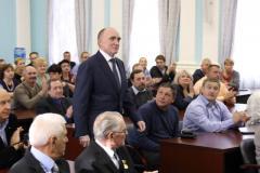 Борис Дубровский вручил грамоты лучшим работникам дорожной хозяйства