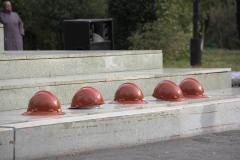 В Копейске почтили память погибших шахтёров и горноспасателей