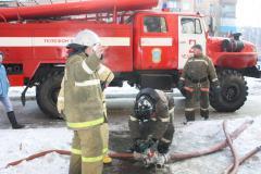 В центре Челябинска подожгли заброшенное здание, на которое имеет виды администрация
