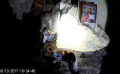 В  Сугомакской пещере обнаружены иконы и церковная утварь