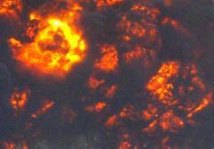 В Карабаше на стоянке прогремел взрыв