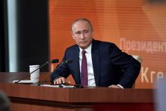 Журналист - Путину: У нас с вами родился ребенок