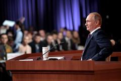 Плакат «Путин Бабай» привлек внимание президента