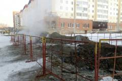 Коммунальная авария в Озерске оставила без тепла жителей четырех многоквартирных домов