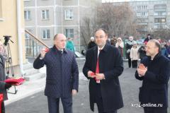 Борис Дубровский открыл новую школу искусств в Карабаше